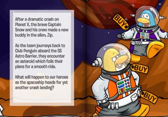 Club Penguin Space Adventure Planet Y